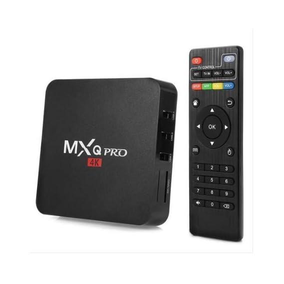 Rampotox MXQ Pro 4K Android TV Box with 2GB RAM/16GB ROM 64Bit Quad Core