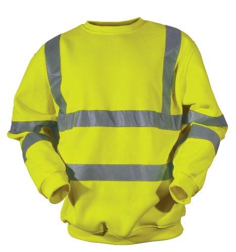 Blackrock amarillo Hi Vis sudadera 2banda & Brace amarillo