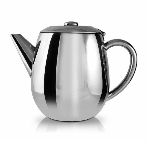 Grunwerg Cafe Ole Everyday Stainless Steel Teapot 17oz Tea P