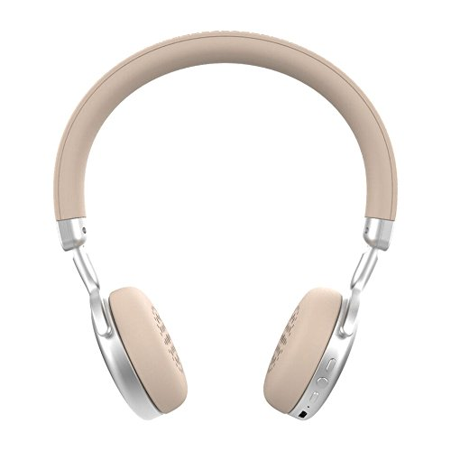 Ryght Singer On-Ear Wireless Bluetooth Headphone with Built-In Microphone and Controls, Silver by Ryght