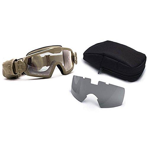 Smith Optics Elite Outside the Wire Turbo Fan (OTW) Goggles, Tan 499