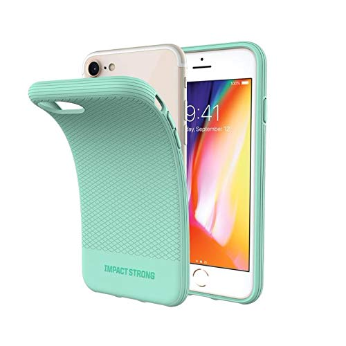 iPhone 7/8 Case, ImpactStrong Snap Guard Protection Shock-Absorbing Scratch-Resistant Protective Cover for Apple iPhone 7 & iPhone 8 (4.7 inch) - Mint ()