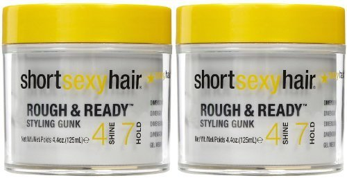 Short Sexy Hair Rough & Ready Styling Gunk Hair Styling Crea