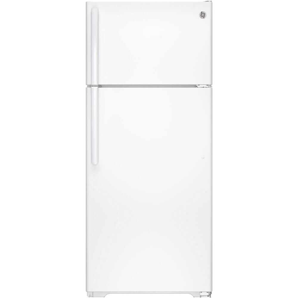 GE Appliances GTS18GTHWW GE 17.5 cuft Top Freezer Refer White