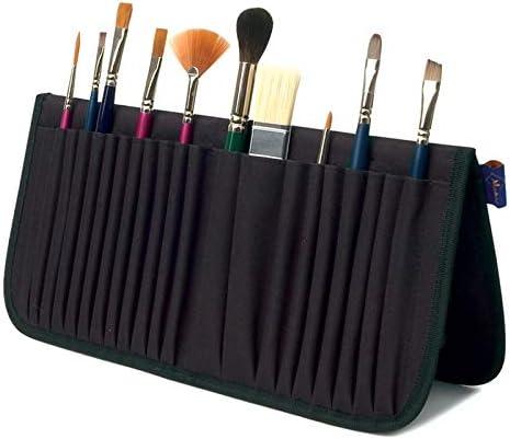 Estuche organizador de pinceles de pie para artistas, bolsa de almacenamiento de cartera, bolsa de almacenamiento de ágata, bolsa para quemadores: Amazon.es: Hogar