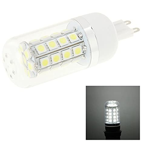 G9 4 W luz fría Light 430lm 36 LED SMD 5050 bombilla LED Light, AC 85 - 265 V: Amazon.es: Electrónica