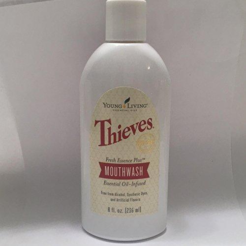 (Thieves Fresh Essence Plus Mouthwash v.3  8oz. by Young Living Essential Oils)