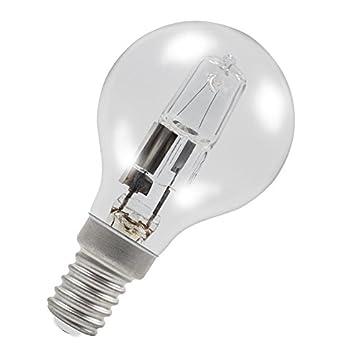Starlight x10, G45, runde Golfballform, dimmbar, ECO-Halogen-Energiesparlampe, E14/SES (kleiner Edison-Sockel, Kappe 240 V, farblos, E14 28.00 wattsW 240.00 voltsV