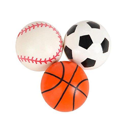 33Mm (1.25'') Sport Ball Hi Bounce Ball by Bargain World