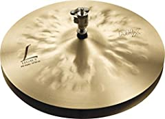 """Very responsive pairing that delivers clean, crisp stick articulation and solid pedal """"chick"""", with warm, tonal colour. Like all HHX Legacy models, SABIAN 14"""" HHX Legacy Hats are musically deep, dark and rich. Until HHX, it was impossible to ..."""