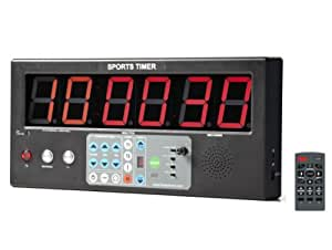 """Interval Workout Timer, Sports Timer BT-01 with 2"""" LED digits for MMA, Fitness, Boxing."""