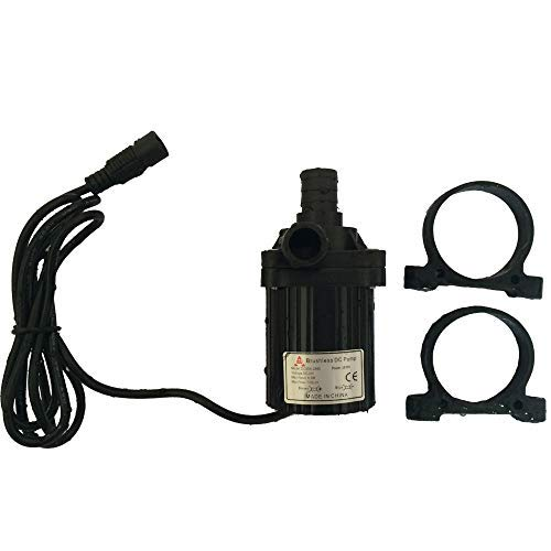 12V Mini Brushless DC pump High temp Lift 4m 900LPH water circulation system