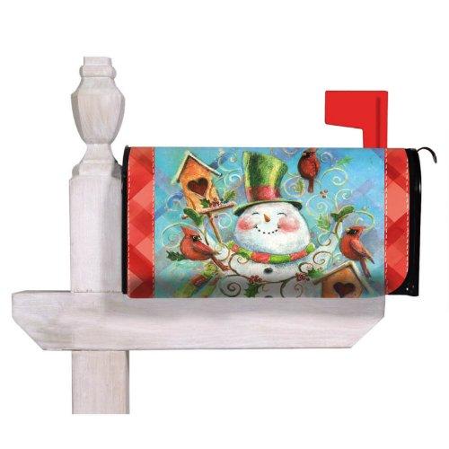 Flag, Mailbox Cover, Birdhouse and Snowman