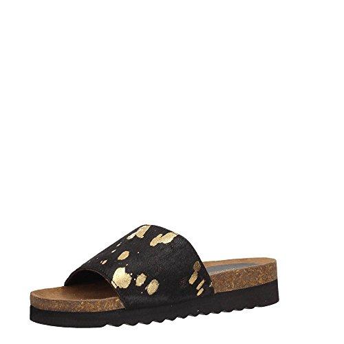 Black DSE104226 Sandale Femme Docksteps Gold tSHBBqw