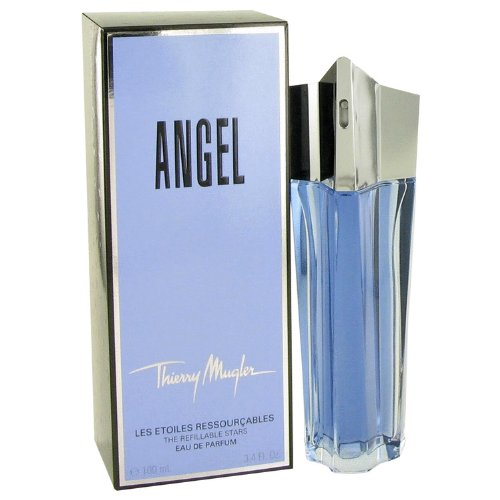 Angel Angel by Thierry Mugler Eau De Parfum Spray 3.3 Oz. / 100 Ml Refillable for Women 885892071204 3439600244090