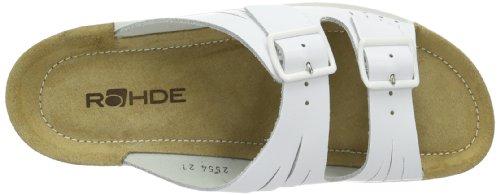 Rohde Soltau-40 1931 Damen Clogs & Pantoletten Weiß (weiß 00)