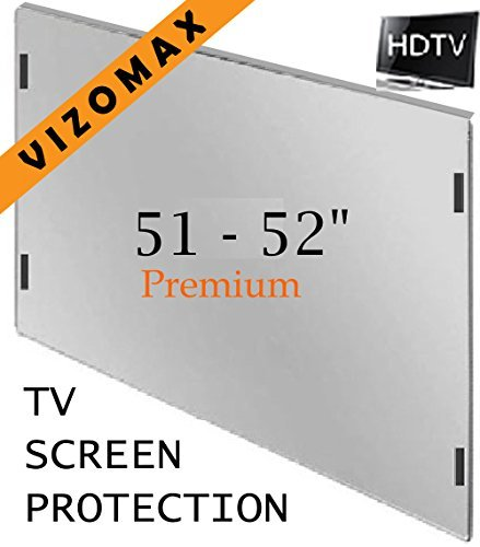 51 - 52 inch Vizomax TV Screen Protector for LCD, LED & Plasma HDTV