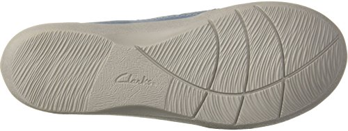 Clarks Kvinders Sillian Stork Fisker Sandal Blå / Grå Syntetisk Nubuck RHfk8sQBN