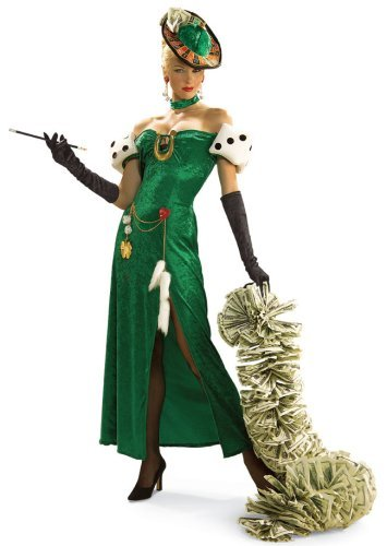 Lady Luck Costume - Standard - Dress Size 6-12 ()