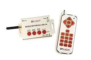 BSLight RGBCONTROLLER16 Controlador RGB para Bombillas, Naranja, 19x19x12.5 cm