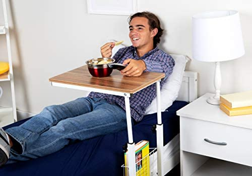 Mind Reader Adjustable Height Laptop Couch End