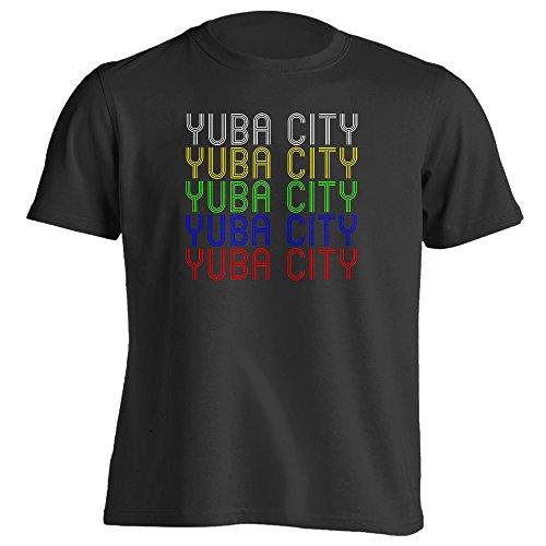 Retro Hometown - Yuba-City, CA 95991 - Black - X-Large - Vintage - Unisex - - City Yuba Ca