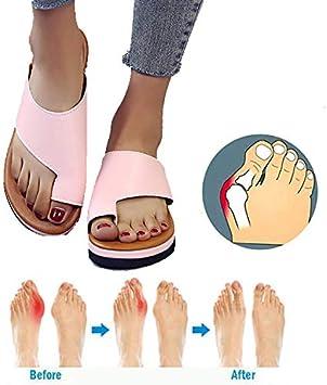 Huiuk Femmes Attelles D'oignon Chaussures Orthopédiques