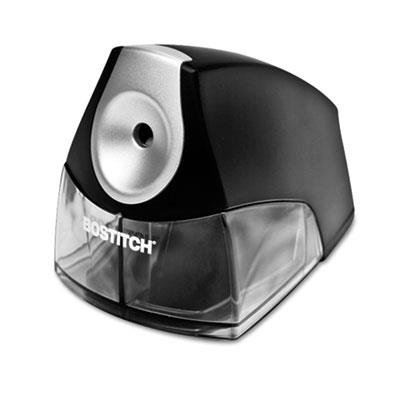 Stanley Bostitch Products - Stanley Bostitch - Compact Desktop Electric Pencil Sharpener, Black - Sold As 1 Each - The perfect choice when space is at a premium. - HHCTM cutter technology produces a precision point every time and outlasts single blade models by up to five times. - Features a high-capacity, easy-to-clean shavings tray with an integrated safety switch that prevents operation when the tray is removed. - Elegant design accentuates any desktop. -