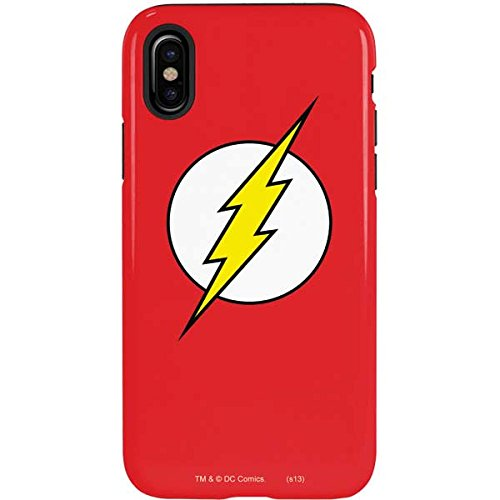 Amazoncom Flash Iphone X Case The Flash Emblem Dc Comics X