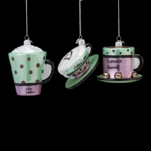 Coffee Cup Christmas Ornament