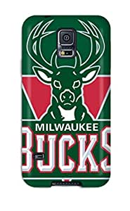 basketball nba milwaukee bucks NBA Sports & Colleges colorful Samsung Galaxy S5 cases 3307385K543295730