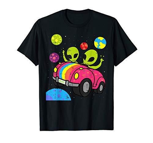 Cute Halloween Ideas For Teens (Hippie Alien Space Roadtrip Car Peace Area-51 Halloween Gift)