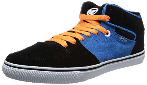 Black DVS Men's Suede Skate Blue Shoe Torey IqBzxq6
