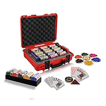 Casinoite Monte Carlo Millions Poker Chips Set, 300