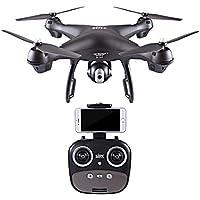 Siviki S70W 2.4GHz GPS FPV Drone Quadcopter with 1080P HD Camera Wifi Headless Mode (black)