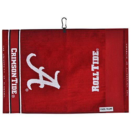 Team Effort Alabama Crimson Tide Face/Club Jacquard Towel