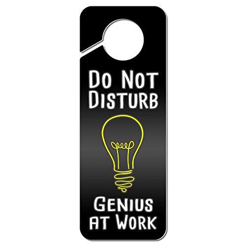 Graphics More Disturb Genius Plastic