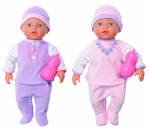 Baby Born 811320 - Mi Pequeño Poses (Bandai)