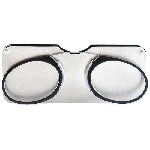 062e2eb4b589 Pinching Portable Emergency Everywhere Eyeglasses. Review - Unisex Pince  Nez Style Reading Glasses Nose Resting ...