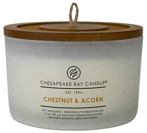 Chesapeake Bay Candle Heritage Coffee Table Scented Candle, Chestnut & (Heritage Collection Cocktail Table)