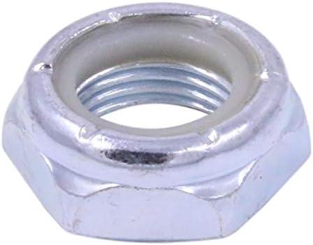 250 1//2-20 Nylon Insert Lock Nut Thin//Jam//Half Thick NTE Series Fine Thread