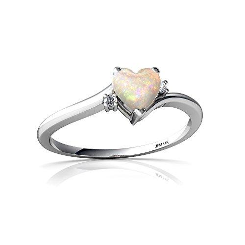 Dazzlingrock Collection 14K 6 MM Each Cushion Gemstone Round White Diamond Ladies Stud Earrings, Rose Gold