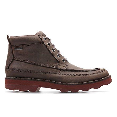 Clarks Détente Homme Boots/Bottes Korik Rise Gore-Tex® en Cuir Marron Taille 41