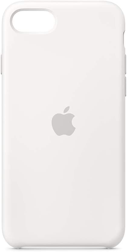 Apple Silicone Case (for iPhone SE) - White