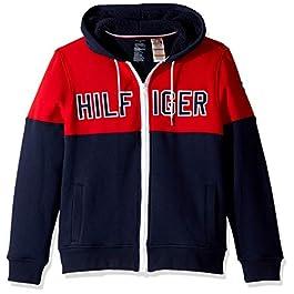 Tommy Hilfiger Men's Hoodie Sweatshirt with Magnetic Zipper