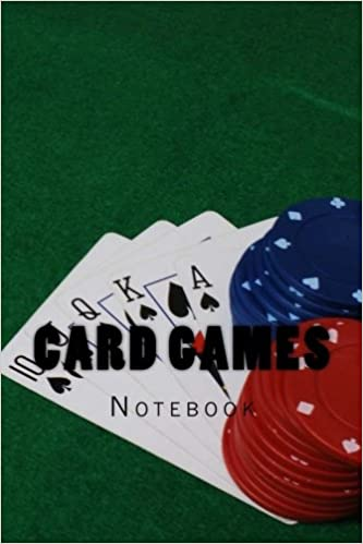 Card Games: Notebook 150 Lined Pages