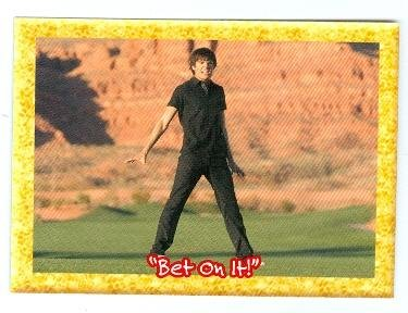 High School Musical trading card sticker expanded edition #11 Zac Efron as Troy Bolton Autograph Warehouse