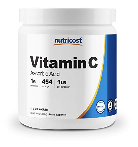 Nutricost Pure Ascorbic Acid