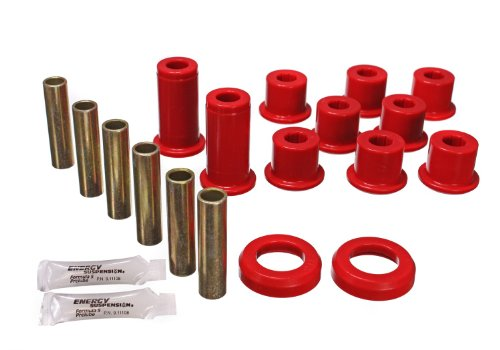 Energy Suspension 3.2129R 2&4WD REAR SPRING BUSHINGS