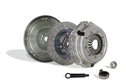 (Clutch With Flywheel Kit Works With Acura Integra Honda Civic Si Del Sol Cr-V Gs Type R Gs-R VTEC 1994-2001 1.6L L4 1.8L l4 GAS DOHC Naturally Aspirated (Flywheel Spec: .112+))